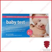 Baby Test Alat Strip Tes Masa Subur Ovulation LH Kesuburan OneMed