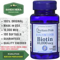 Puritan's Pride Biotin 100 Softgel 10,000 Mcg