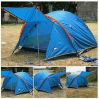 Tenda Camping Elite Double Layer Kapasitas 4 Orang