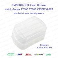 OMNI BOUNCE Flash Diffuser Godox TT685 V860II Nissin Canon Nikon YN560