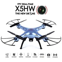 Drone Camera Syma X5HW Wifi Handphone FPV Altitude Hold D-X5HW