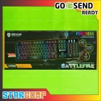 Keyboard Gaming Rexus Battlefire K9RGB / K9 RGB Backlight Fortress