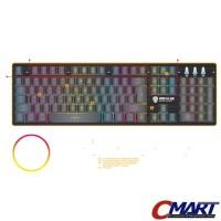 Rexus K9 RGB Fortress Backlit Floating Keys Gaming Keyboard REX-K9RGB