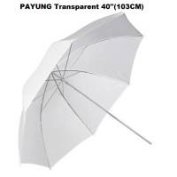 Payung Studio Putih 43 Inch Umbrella reflector white