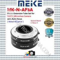 MEIKE MK-N-AF3A Macro AF Extension Tube Set for Nikon Mirrorless