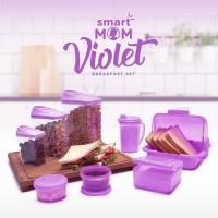 Tempat Penimpanan Sarapan Smart Mom Violet Breakfast Set