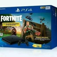PLAYSTATION 4 PS4 SLIM 500GB FORTNITE BUNDLE GARANSI RESMI SONY