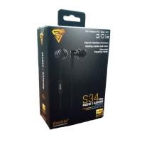 S34 - kworld gaming earphones