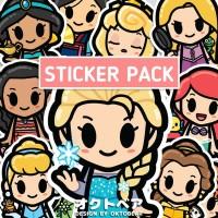 Sticker Vinyl Little Princess