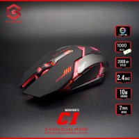 Cyborg C1 (War Knights) - Wireless Gaming Mouse
