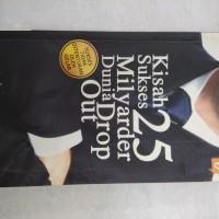 Buku murah Kisah Sukses 25 Milyarder Dunia Drop Out