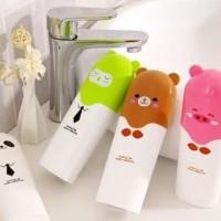 Animal Travel Toothbrush Box / Tempat Kotak Sikat Gigi Anak Travel