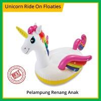 Intex 57561 Unicorn Ride On Floaties / Pelampung Ban Renang Anak Bayi
