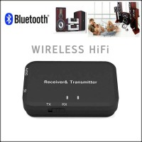 2 in 1 Stereo Bluetooth Audio Transmitter Receiver (Single Port)
