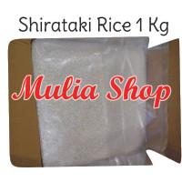 (1 kg) Beras Shirataki - Konnyaku Rice Rendah Kalori Diet Diabetes