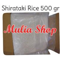 (500 gram) Beras Shirataki - Konnyaku Rice Rendah Kalori Diet Keto