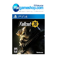 Ready Stock -Ps4 Fallout 76 (R3/English)