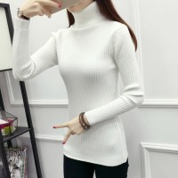Sweater Daisy Turtle Neck Murah