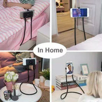 Lazypod Leher dan Pinggang/Holder HP LazyNeck Hanging Cell Stand