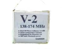 Gazden V-2 Antena Base Station VHF V2 Radio Komunikasi Rig HT Ori Baru