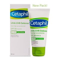 Cetaphil UVA/UVB Defense SPF 50 - 50 ML / SUNBLOCK CETAPHIL