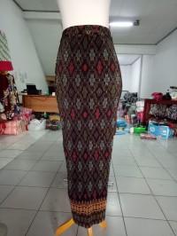 Rok Plisket Queta Panjang Maxi Batik Jumbo Wanita