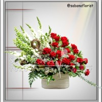 Buket Bunga / Bouquet Meja / Bunga Ulang Tahun / Rangkaian Bunga Meja