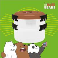 KOTAK MAKAN SUSUN / LUNCH BOX STACKABLE WE BARE BEARS