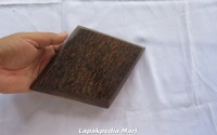 PIRING KAYU AREN Model Wajik 25x17cm 12 Pcs a lapakpediacraft 4