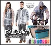 Terbaru jaket jas hujan plus sauna suit transparan raincoat polos
