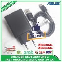 Charger Asus Zenfone 2/ 3/ 4/ 5/ 6 FAST CHARGING Original 100%