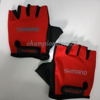 sarung tangan Shimano PRO GEL GLOVE padding gloves sepeda half finger