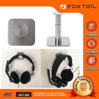 headset headphone stainless stand hanger earphone gantungan gaming