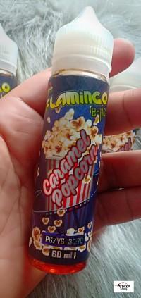 Liquid CARAMEL POP CORN 60ML Premium PopCorn Karamel Flamingo Stardust