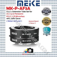 MEIKE MK-P-AF3A Macro AF Extension Tube Set for Micro 4/3 Mirrorless