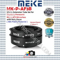 MEIKE MK-P-AF3B Macro AF Extension Tube Set for Micro 4/3 Mirrorless