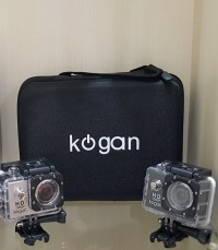 New Version Sport Action Camera KOGAN Wifi 4K GO PRO WIFI With BAG