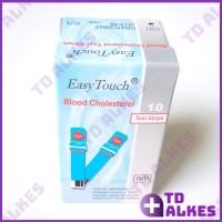 Strip Easy Touch Cholesterol Test Kolesterol Refill Isi 10 Easytouch