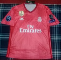 Jersey real madrid 3rd full Patch UCL