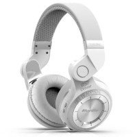 PROMO Bluedio T2 Turbine Wireless Bluetooth Headphones - White