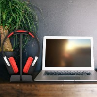 Headphone Headset Holder Stand Portable