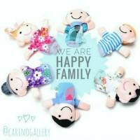 Boneka Jari Tangan Seri Keluarga Family hot deal