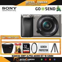 Sony Alpha A6000 Kit 16-50mm (Paket Gebyar)