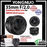 Lensa YONGNUO YN-35mm F2N For NIKON DSLR
