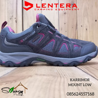 Sepatu Gunung Karrimor Mount Low 41 Black-Pink Waterproof not Consina