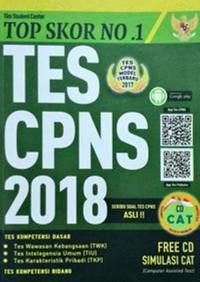 BUKU Top Skor No 1 Tes CPNS 2018 Tim Student Center