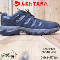 Sepatu Gunung Karrimor Mount Low 44 Navy Waterproof not Eiger. Consina