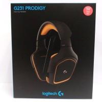 LOGITECH G231 Prodigy Gaming Headset - GARANSI RESMI TUKER BARU