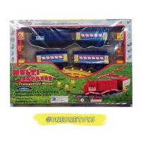 Mainan Kereta Api dengan Lampu & Musik Kereta Api