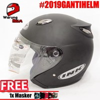 BEST SELLER Helm Best 1 Hitam doff Model INK Centro